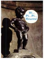 (750 DEL) Art - Brussels - Manneken-Pis - Sculture