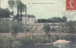 ILE DE FRANCE -78 - YVELINES -MELAN - Petite île Saint Nicaise - Colorisée Et Toilée - Meulan