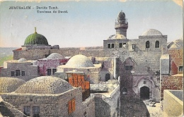 Jerusalem - Davids Tomb - Tombeau De David - Ed. Sarrafian Bros. Beirut - Israel