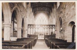 NORBURY CHURCH INTERIOR - Derbyshire