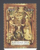 PERU, 2014 , MNH,CHRISTMAS,1v - Kerstmis