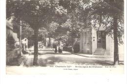 SAINT-GEORGES De DIDONNE : Rue Du Port,Epicerie,Voiture,animée. Cliché Braun. - Saint-Georges-de-Didonne