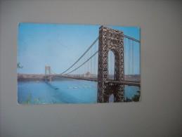 ETATS UNIS NY NEW YORK CITY GEORGE WASHINTON BRIDGE - Ponts & Tunnels