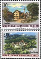 Liechtenstein 1126-1127 (complete Issue) Unmounted Mint / Never Hinged 1996 Village Views - Nuovi