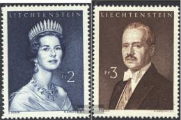 Liechtenstein 402-403 (complete Issue) Unmounted Mint / Never Hinged 1960 Clear Brands: Princely - Liechtenstein