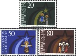 Liechtenstein 831-833 (complete Issue) Unmounted Mint / Never Hinged 1983 Christmas - Books, Magazines, Comics