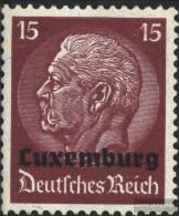 Luxembourg (German.cast.2.world.) 8 Unmounted Mint / Never Hinged 1940 Hindenburg - Besetzungen