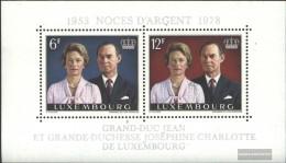 Luxembourg Block11 (complete.issue.) Unmounted Mint / Never Hinged 1978 Silver Wedding - Blocks & Kleinbögen