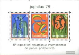Luxembourg Block12 (complete.issue.) Unmounted Mint / Never Hinged 1978 JUPHILUX 78 - Blocks & Kleinbögen