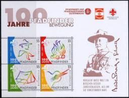 Autriche 2007 - Feuillet 100 Ans De Scoutisme ** - Scouting