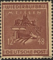 Meissen 38 Unmounted Mint / Never Hinged 1945 Reconstruction - Stamps