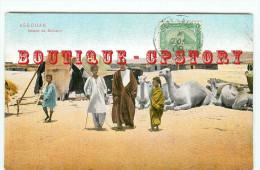 ASSOUAN - MAISON De BICHARIN - CHAMEAU - CAMEL - EGYPTE - EGYPT - EGYPTIAN - DOS SCANNE - Aswan