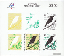 New Zealand Block18 (complete Issue) Unmounted Mint / Never Hinged 1989 PHILEXFRANCE '89 - Blocks & Sheetlets