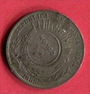 § 1 COLON  1923   (KM 163)  TB 35 - Costa Rica