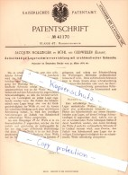 Original Patent - J. Hollinger In Bühl / Buhl Bei Gebweiler / Guebwiller , Elsass , 1887 , Lagerschmiervorrichtung !!! - Historical Documents