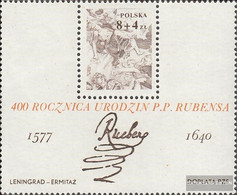 Poland Block67 (complete Issue) Unmounted Mint / Never Hinged 1977 Peter Paul Rubens - Blocks & Sheetlets & Panes