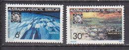 PGL CP036 - AUSTRALIAN ANTARTIC TERRITORY Yv N°19/20 ** - Unused Stamps