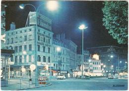 Saint-Etienne La Nuit: CITROËN DS - Droguerie B. Neyret, Place Du Peuple - (France) - Passenger Cars