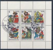 DDR Michel No. 2187 - 2192 A I gestempelt used / PF 2192 I