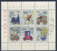 DDR Michel No. 2566 - 2571 A I gestempelt used / PF 2568 I