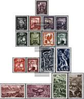 Saar 272-288 (complete Issue) Unmounted Mint / Never Hinged 1949 Saar Views - 1947-56 Protectorate