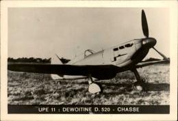 AVIATION  MILITAIRE - AVION - Dessin - DEWOITINE 520 - Aviation