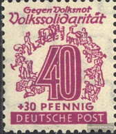 Soviet Zone (Allied.cast.) 148IV Point To The 4 Unmounted Mint / Never Hinged 1946 People's Solidarity - Sowjetische Zone (SBZ)