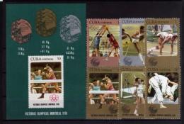 1976 - Cuba - JOOO. Montreal - Mi 3372 -3378 - MNH - Verano 1976: Montréal