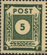 Soviet Zone (Allied.cast.) 57I, Ranke With Blossom (Field 34) Unmounted Mint / Never Hinged 1945 Serial Numbers - Zone Soviétique