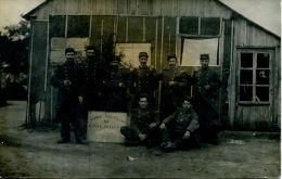 N°43260 -carte Photo Camp D´Auvours -28 Mai 1912- - Barracks