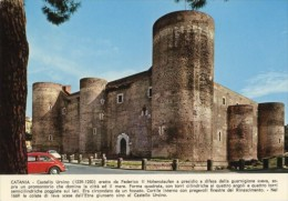 Catania - Cartolina CASTELLO URSINO ERETTO DA FEDERICO II - PERFETTA L27 - Catania