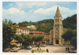 07 - Le Cheylard          Place Saleon-Terras - Le Cheylard