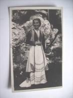 Montenegro Crne Gore Woman In Nice Dress - Montenegro