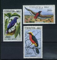 MALI  (  AERIEN )  :  Y&T  N°  2/4  TIMBRES  NEUFS  SANS  TRACE  DE  CHARNIERE  , A  VOIR . - Mali (1959-...)