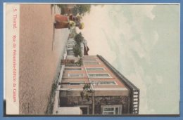 Afrique - Sao TOME Et Principe -- Rua Do Pelourinho Edificio Da Camara - Sao Tome Et Principe
