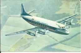 "AVIATION . AVION AIR FRANCE . VICKERS "" VISCOUNT "" EN PLEIN VOL - 1946-....: Moderne"