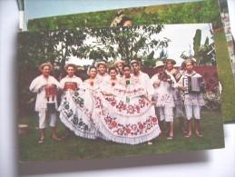 Panama Beautiful Young Ladies Conjunto Tipico Cajar - Panama