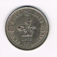 *** HONG KONG  1 DOLLAR  1972 - Hong Kong