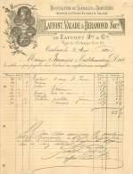 TOULOUSE . LAFFONT VALADE ET DERAMOND . MANUFACTURE DE SANDALES ET CHAUSSURES . 1890 . - Frankrijk