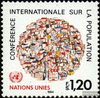UN - Geneva 119 (complete.issue.) Unmounted Mint / Never Hinged 1984 Population Conference - Vanuatu (1980-...)