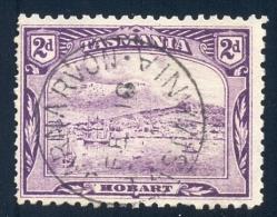 Tasmania 1905. 2d Bright Reddish Violet (p11 - Crown Over A). SG 251fa. - Gebraucht