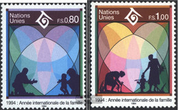 UN - Geneva 243-244 (complete Issue) Unmounted Mint / Never Hinged 1994 Year The Family - Geneva - United Nations Office