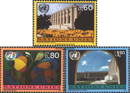 UN - Geneva 256-258 (complete Issue) Unmounted Mint / Never Hinged 1994 Clear Brands - Geneva - United Nations Office