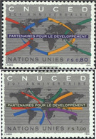 UN - Geneva 259-260 (complete Issue) Unmounted Mint / Never Hinged 1994 30 Years UNCTAD - Geneva - United Nations Office