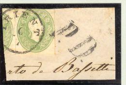 Oesterreich Ganzsachenausschnitt 3Rp. GAA1 Briefstück - 1850-1918 Imperium