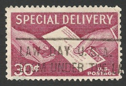 United States, 30 C. 1957, Sc # E21, Mi # 683, Used - Special Delivery, Registration & Certified