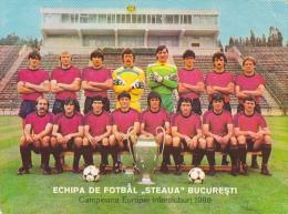 Romania - Steaua Bucuresti - 1986 - Calcio