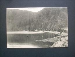 La Bresse Lac Des Corbeaux, Pêcheur  - Testart Circulée 1904 L205A - Autres Communes