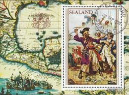 United Kingdom-Principality Sealand Issue A Micronation On Sea Platform, Not Recognized Fine Used / Cancelled 1970 Sailo - Macedonia