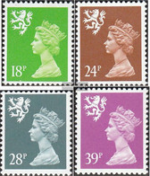 United Kingdom - Scotland 61A-64A (complete.issue.) Unmounted Mint / Never Hinged 1991 Elizabeth II. - Regional Issues